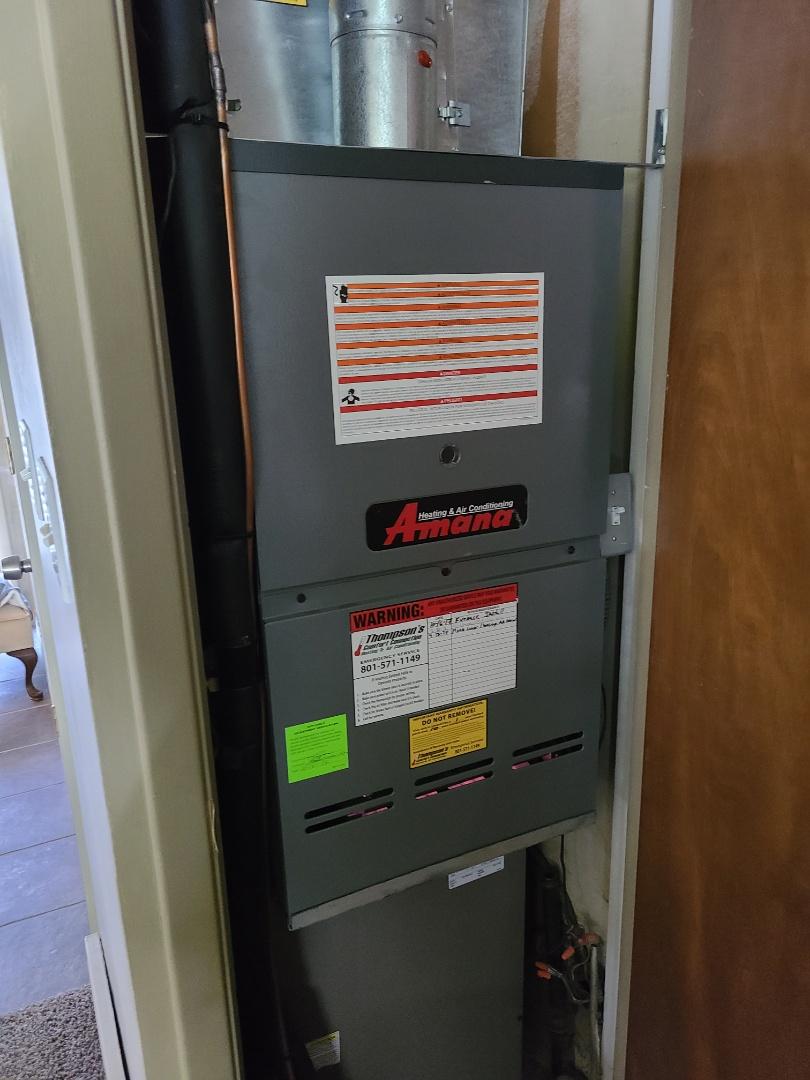Salt Lake City, UT - Furnace tune-up on Amana furnace