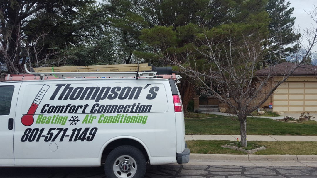 Cottonwood Heights, UT - A/C tune up on a Rudd air conditioner