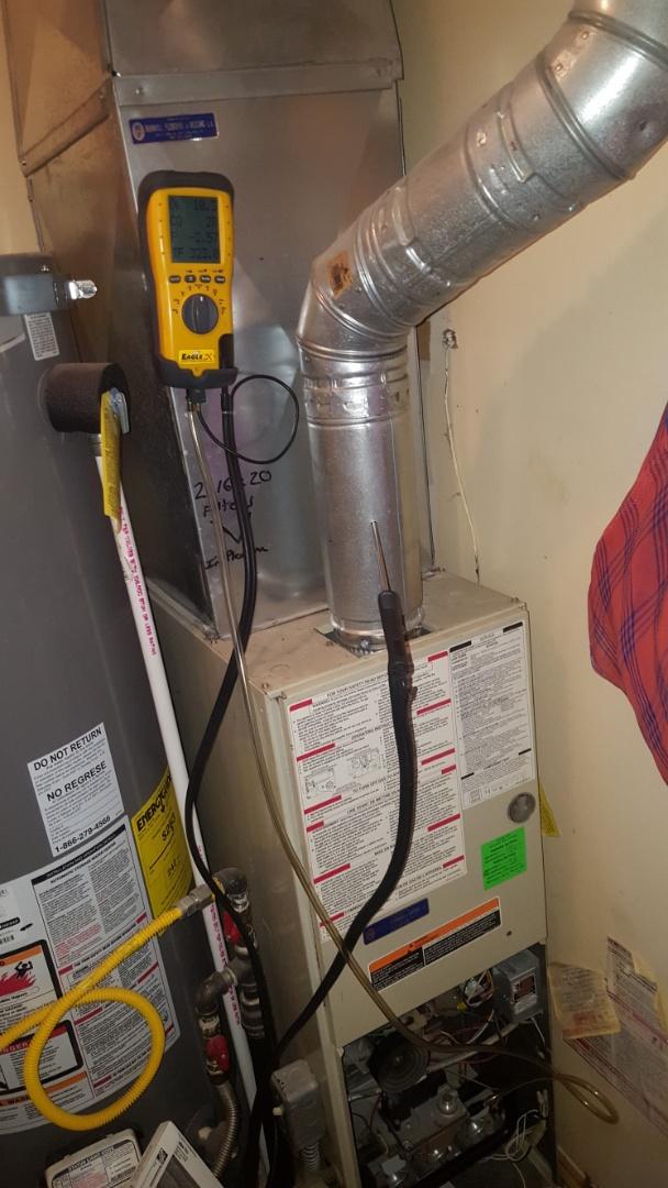 Salt Lake City, UT - Repair on a carrier furnace