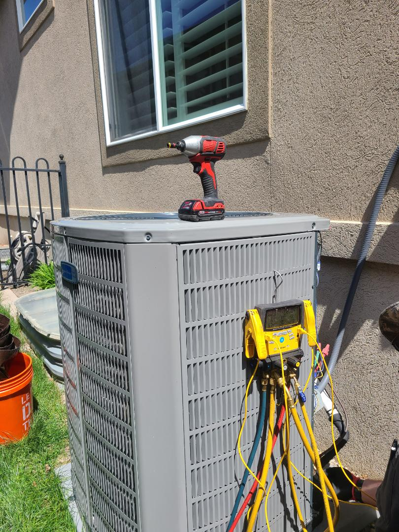 Draper, UT - Air conditioning tuneup on American Standard air conditioner