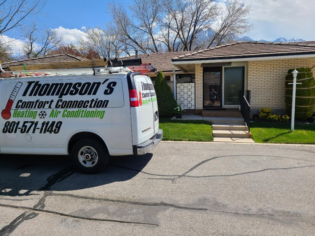 Holladay, UT - Air conditioning tuneup on Amana air conditioner
