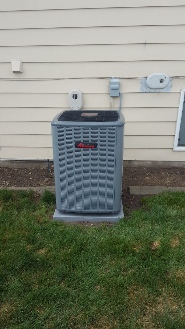 Taylorsville, UT - A/C tune up on a Amana air conditioner