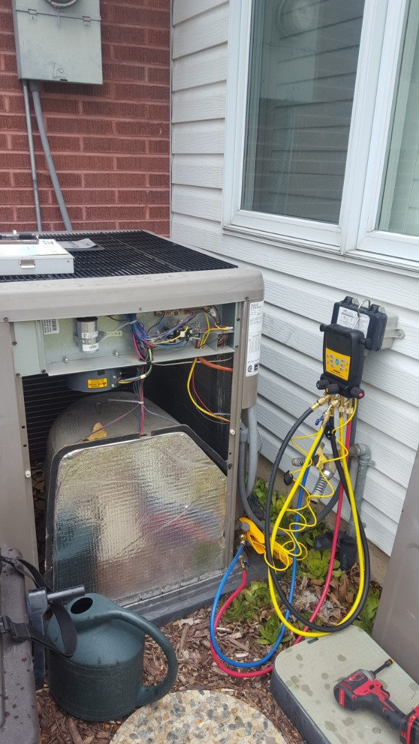 Salt Lake City, UT - A/C tune up on a york air conditioner
