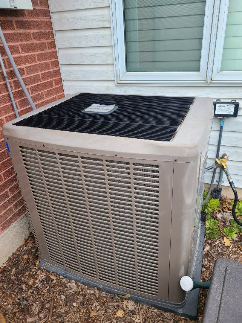 Salt Lake City, UT - Air conditioning tuneup on York air conditioner