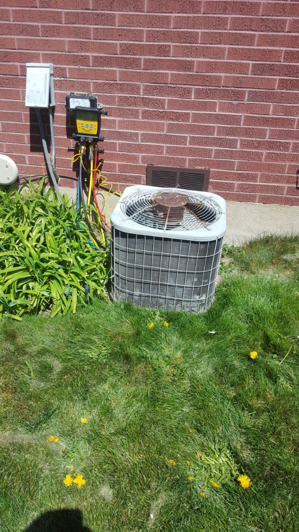 Draper, UT - A/C tune up on a Bryant air conditioner