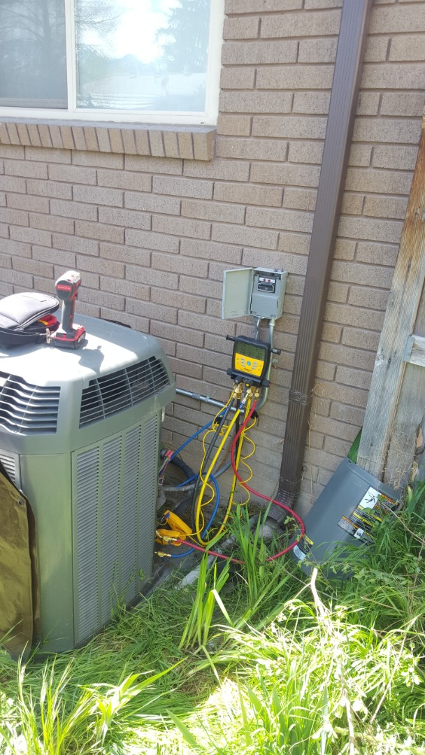 Midvale, UT - A/C tune up on a trane air conditioner