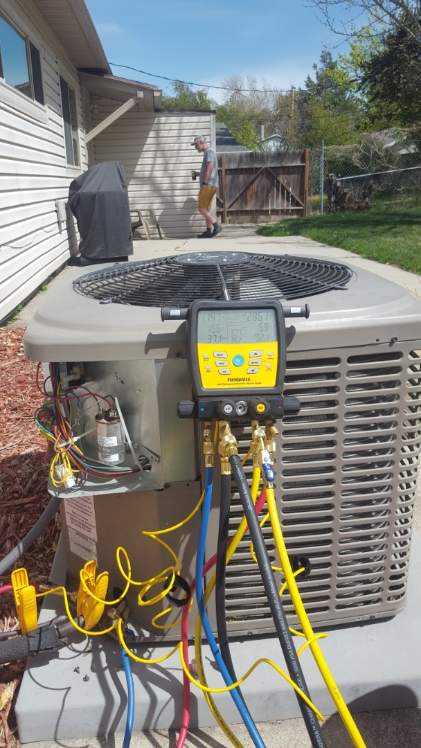 Cottonwood Heights, UT - A/C tune up on a york air conditioner