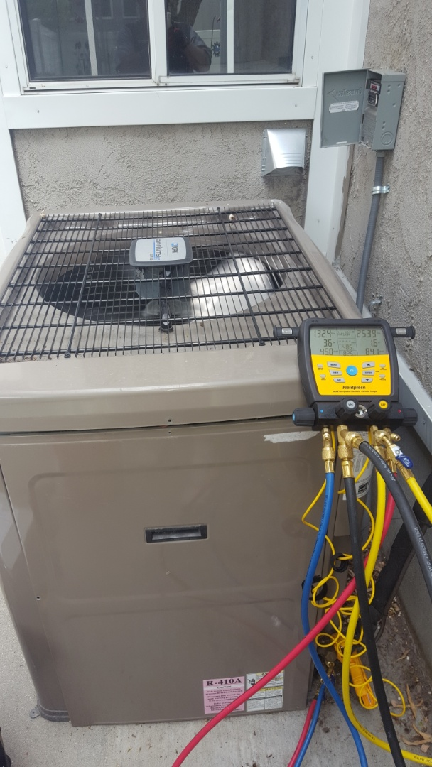 Midvale, UT - A/C tune up on a york air conditioner