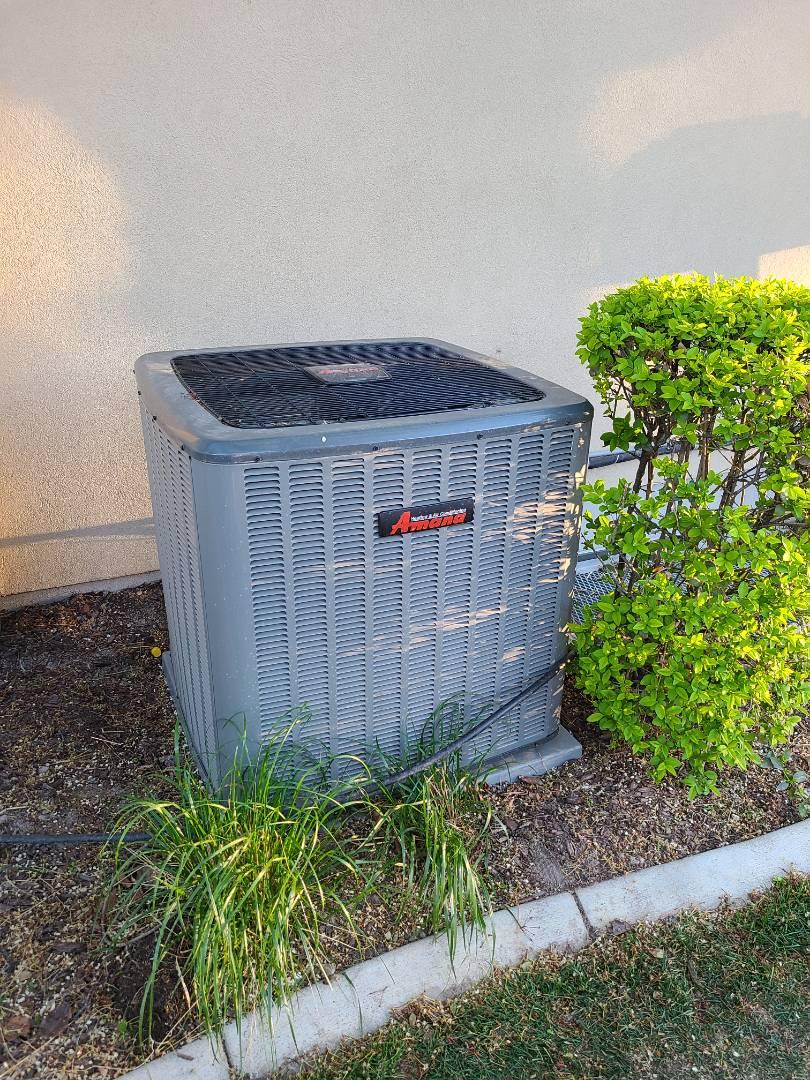 Draper, UT - Air conditioning repair on Amana air conditioner