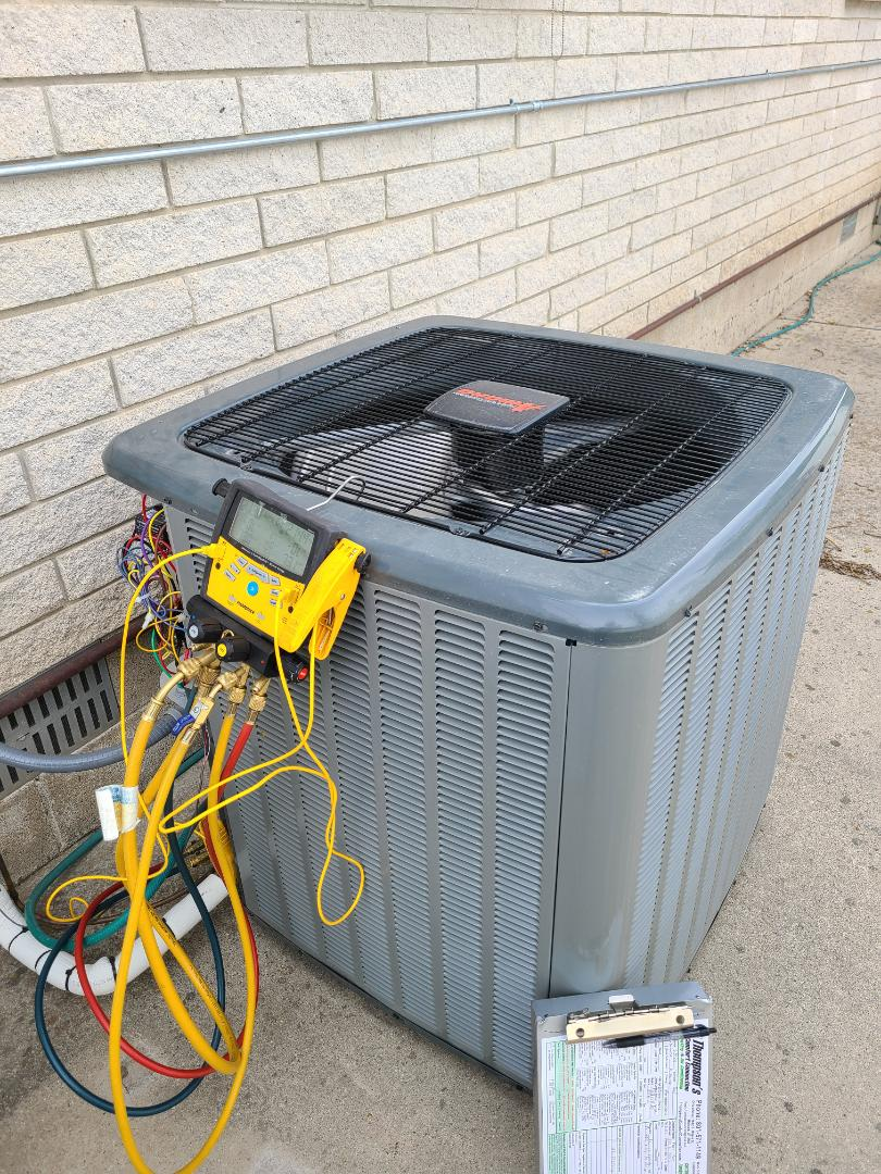 West Jordan, UT - Air conditioning tuneup on Amana air conditioner
