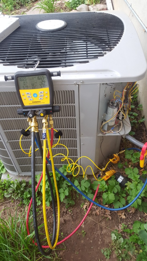 Salt Lake City, UT - A/C tune up on a Carrier air conditioner