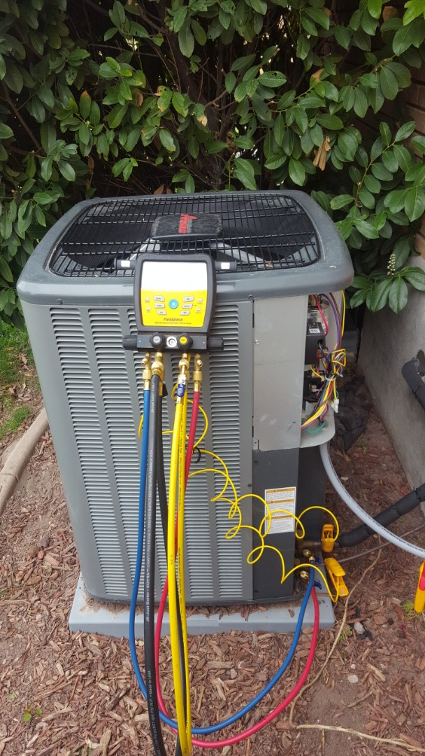 West Valley City, UT - A/C tune up on a Amana air conditioner