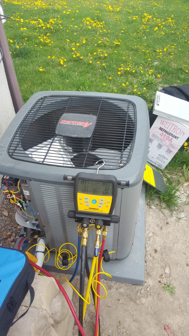 West Valley City, UT - New amana air conditioner start up