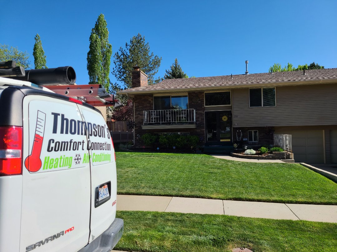 Cottonwood Heights, UT - Air conditioning tuneup on American Standard air conditioner