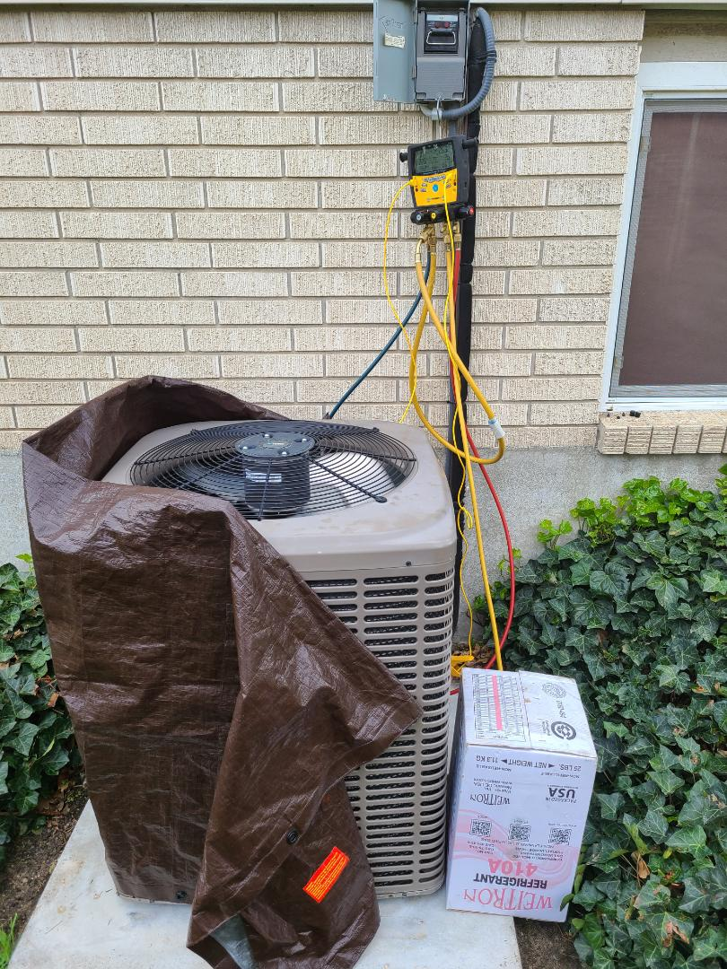 Cottonwood Heights, UT - Air conditioning tuneup on York air conditioner