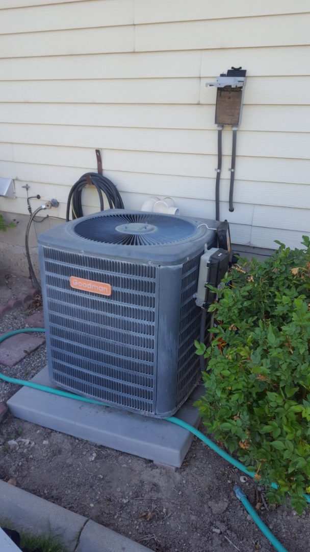 Riverton, UT - A/C tune up on a Goodman air conditioner