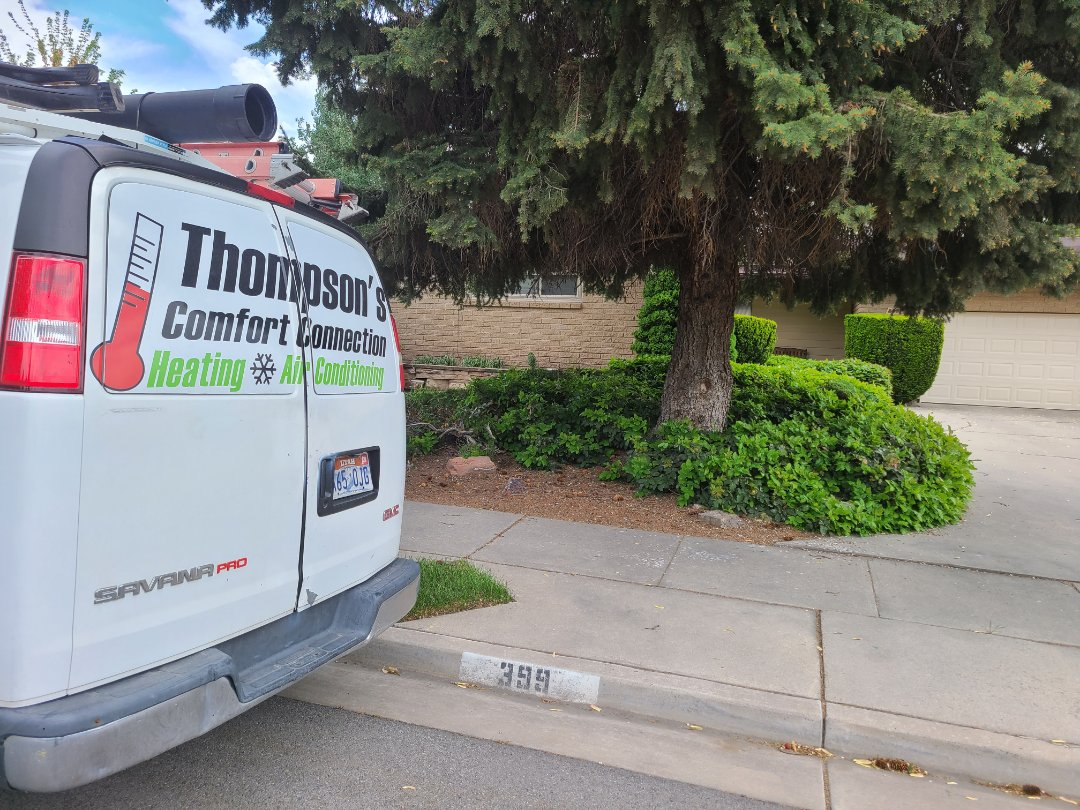 Midvale, UT - Air conditioning tuneup on Heil air conditioner
