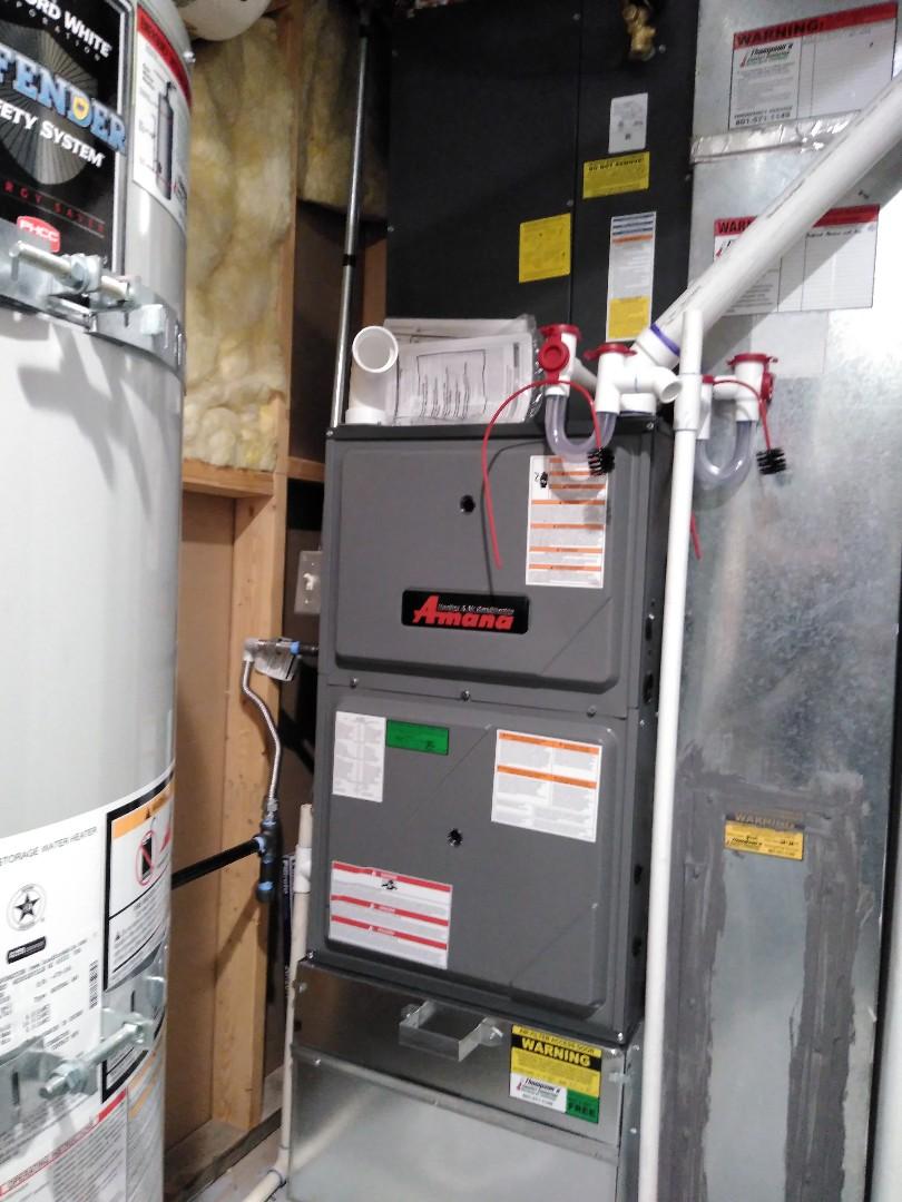West Jordan, UT - Installed new furnace and ac