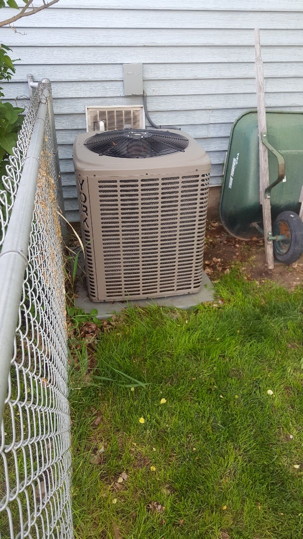 Magna, UT - A/C tune up on a york air conditioner