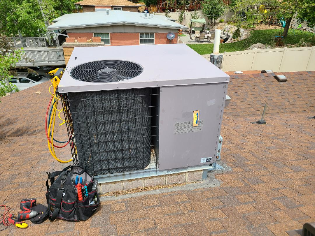 Salt Lake City, UT - Air conditioning tuneup on  Heil air conditioner