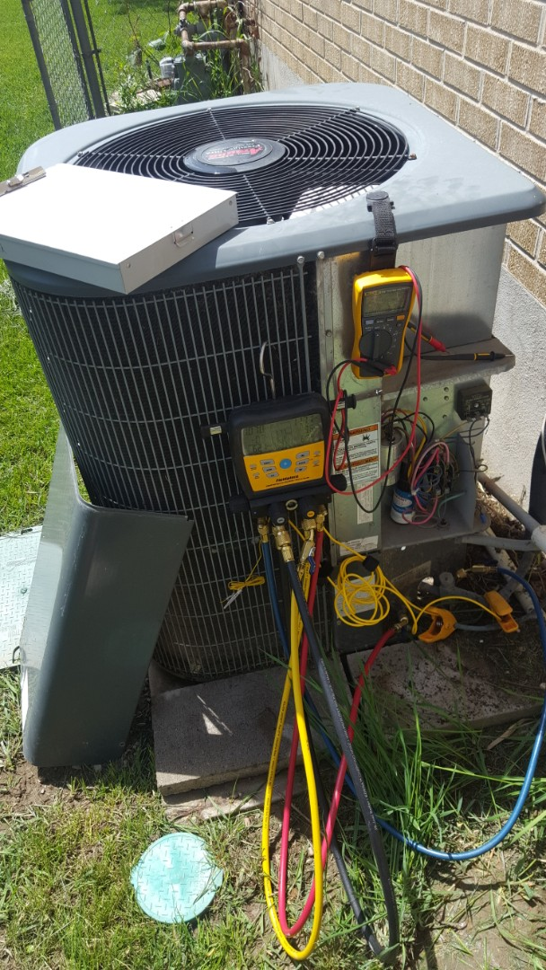 Midvale, UT - A/C tune up on a Amana air conditioner