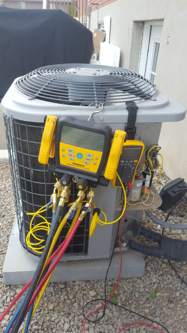 Riverton, UT - A/C tune up on a Carrier air conditioner