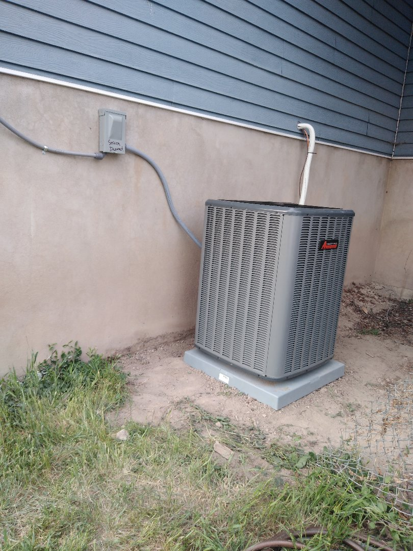 Riverton, UT - Installed new furnace and AC