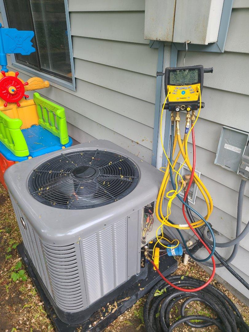 Herriman, UT - Air conditioning tuneup on Ruud air conditioner