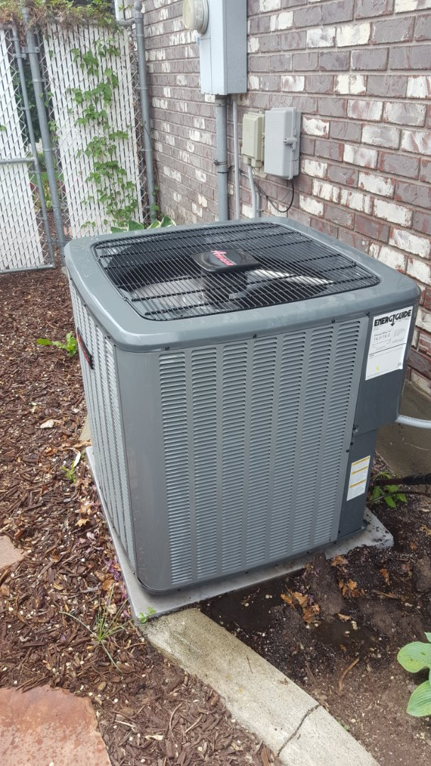 West Jordan, UT - A/C tune up on a Amana air conditioner