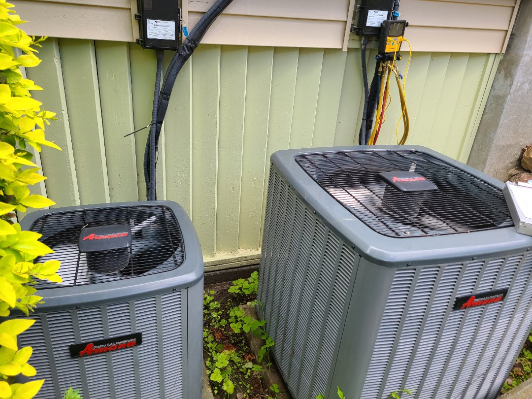 Sandy, UT - Air conditioning tuneup  on two Amana air conditioners