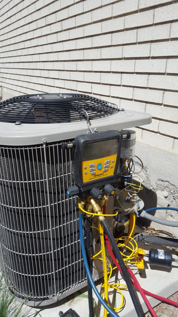Sandy, UT - A/C tune up on a Bryant air conditioner