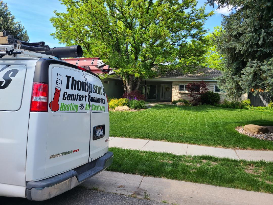 West Jordan, UT - Air conditioning tuneup on Carrier air conditioner
