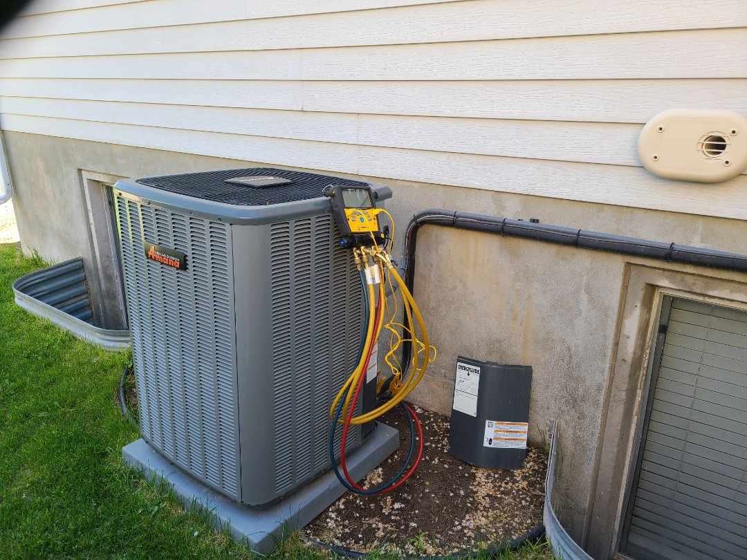 West Jordan, UT - Air conditioning tuneup on Amana air conditioner
