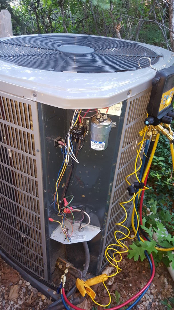 Sandy, UT - A/C tune up on a American standard air conditioner