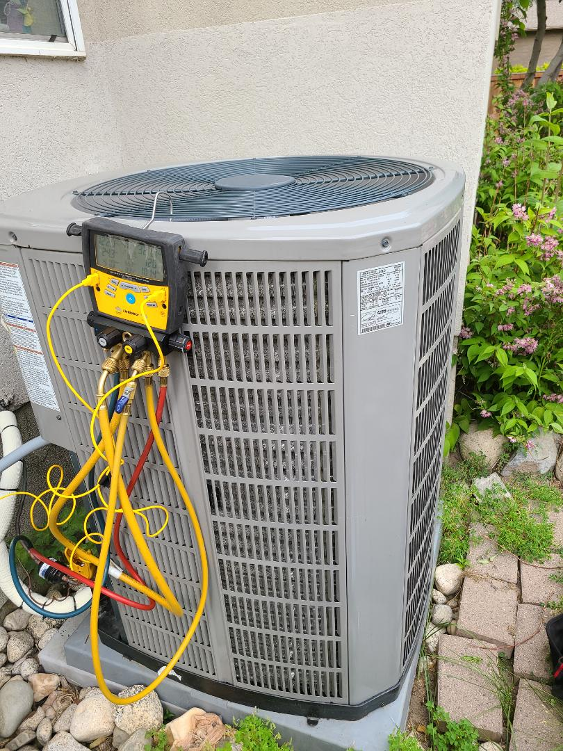 Murray, UT - Air conditioning tuneup on American Standard air conditioner