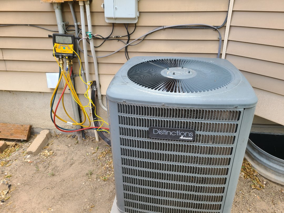 Sandy, UT - Air conditioning tuneup on Amana air conditioner
