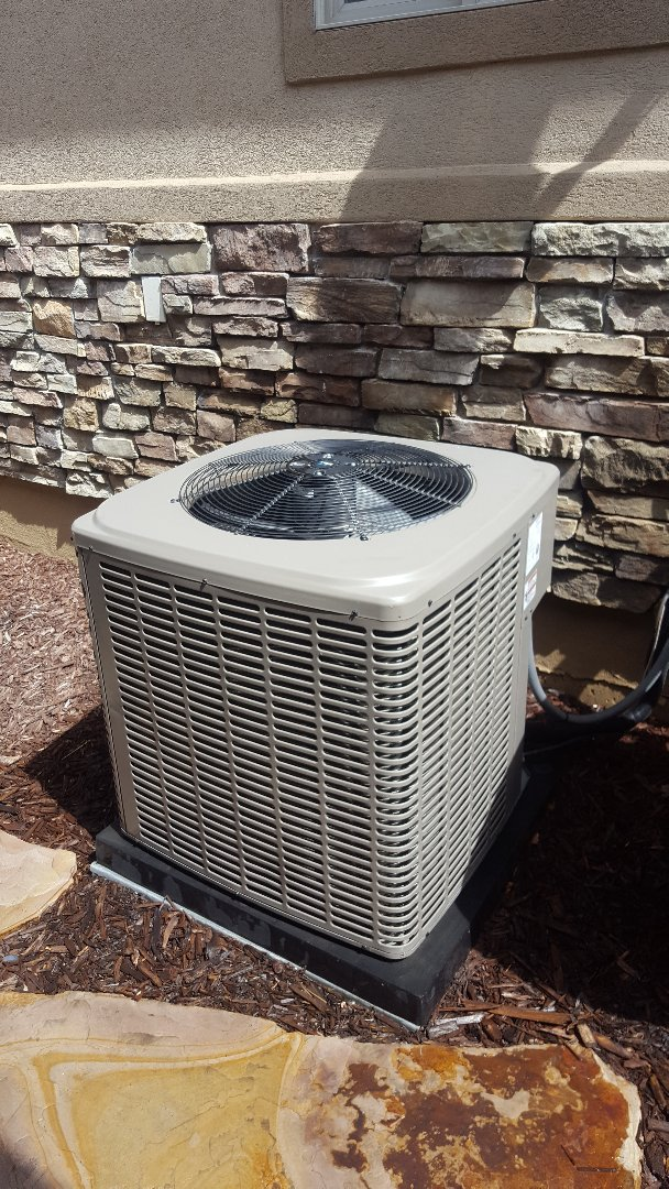 South Jordan, UT - A/C tune up on a york air conditioner