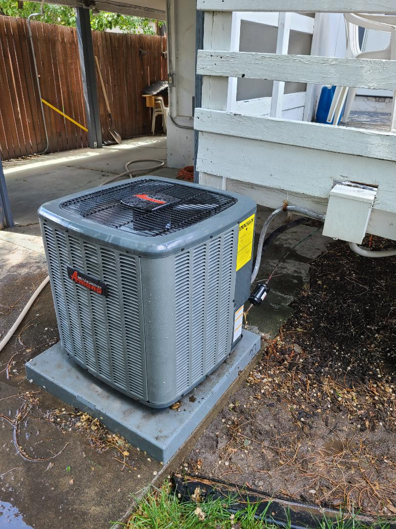 Midvale, UT - Air conditioning tuneup on Amana air conditioner