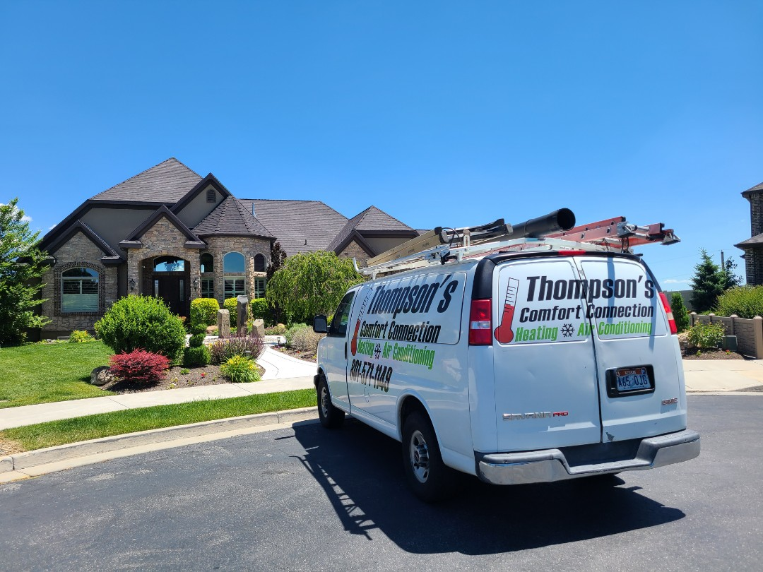 South Jordan, UT - Air conditioning tuneup on Amana air conditioner
