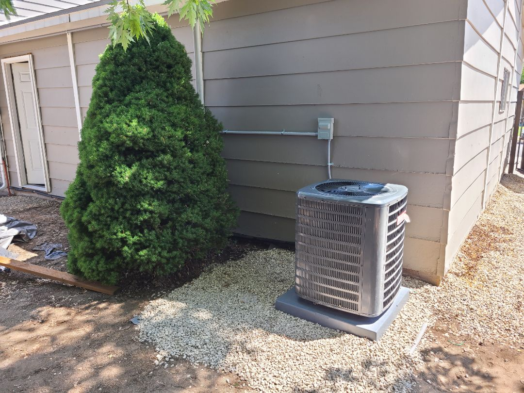 Transfered Goodman AC to the other side of the house