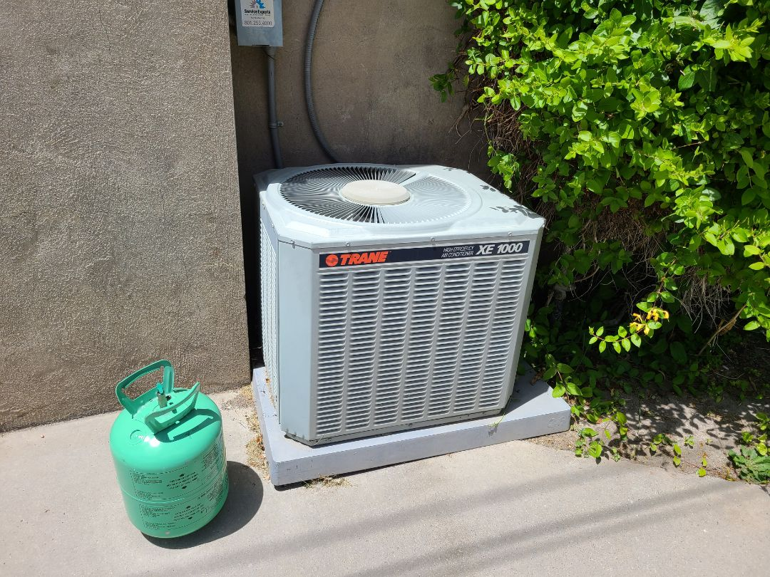 Salt Lake City, UT - Air conditioning tuneup on Trane air conditioner