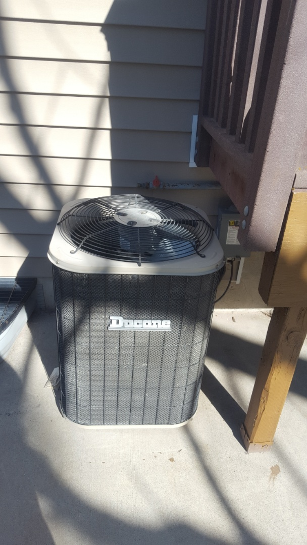 West Valley City, UT - A/C tune up on a Ducane air conditioner