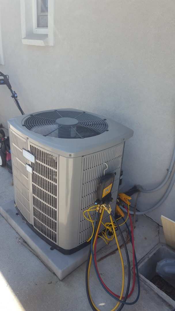Holladay, UT - A/C tune up on an American standard air conditioner