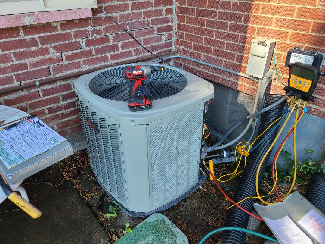 Sandy, UT - Air conditioning tuneup on Trane air conditioner