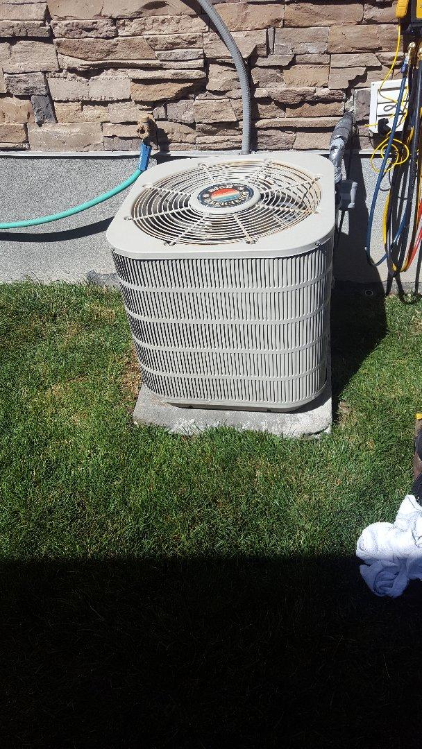 Midvale, UT - Repair of freezing coil