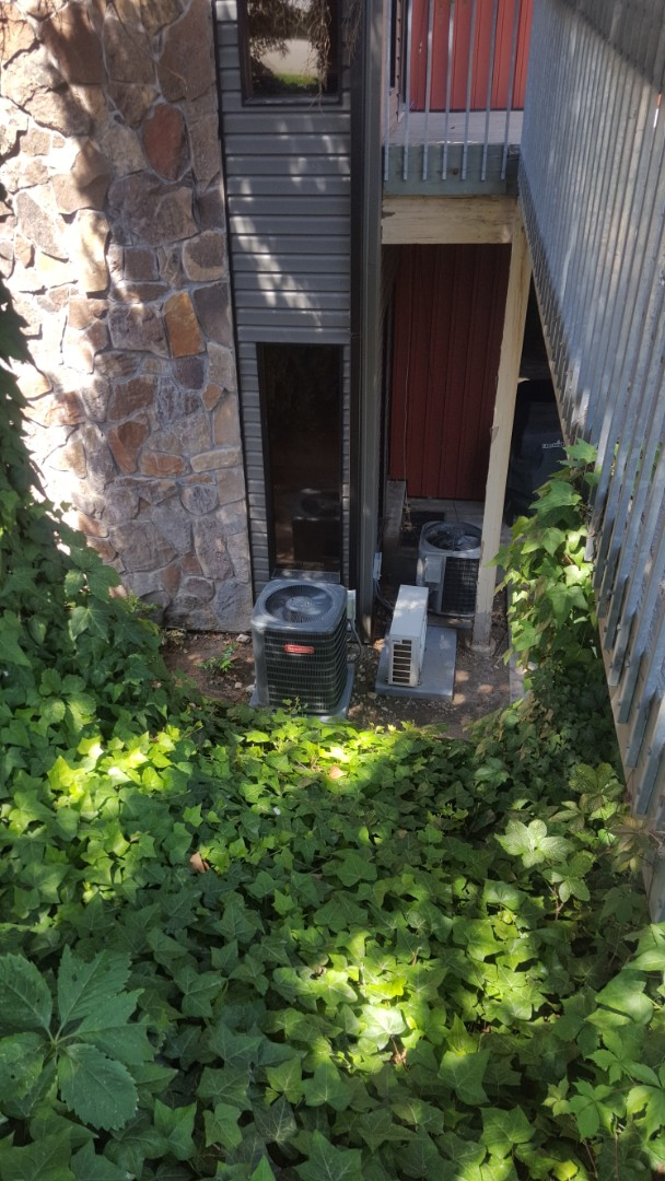 Cottonwood Heights, UT - A/C tune up on 2 Goodman air conditioners and a Carrier air conditioner