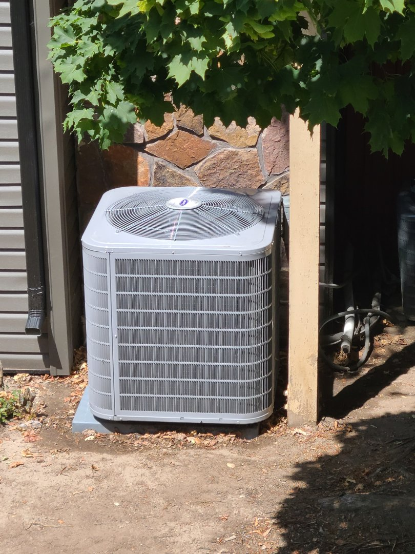 Cottonwood Heights, UT - Air conditioning tuneups on two Goodman air conditioners and one Carrier air conditioner
