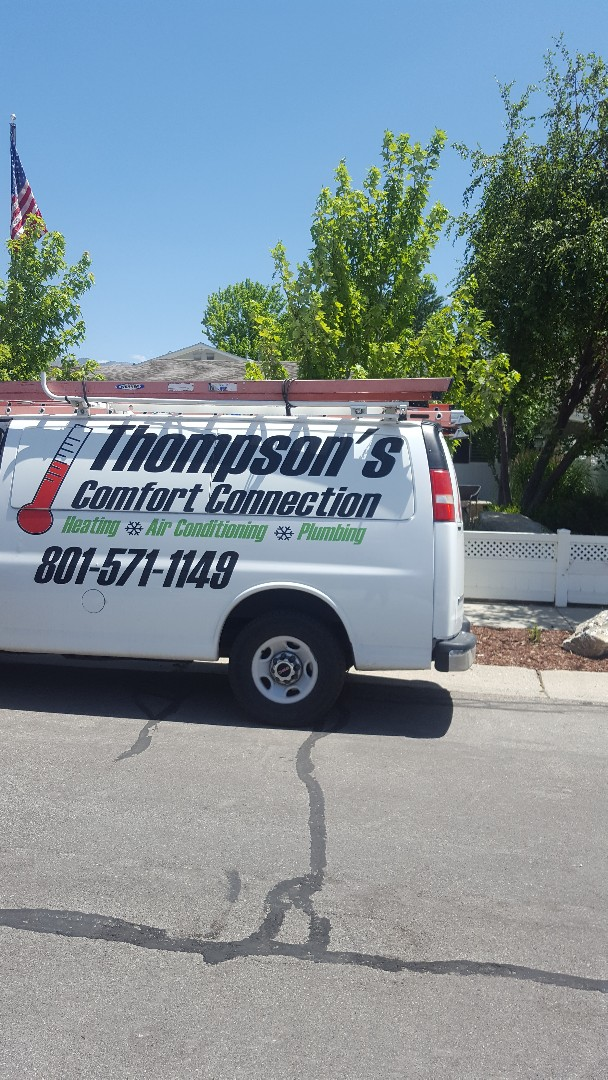 Sandy, UT - A/C tune up on a Amana air conditioner