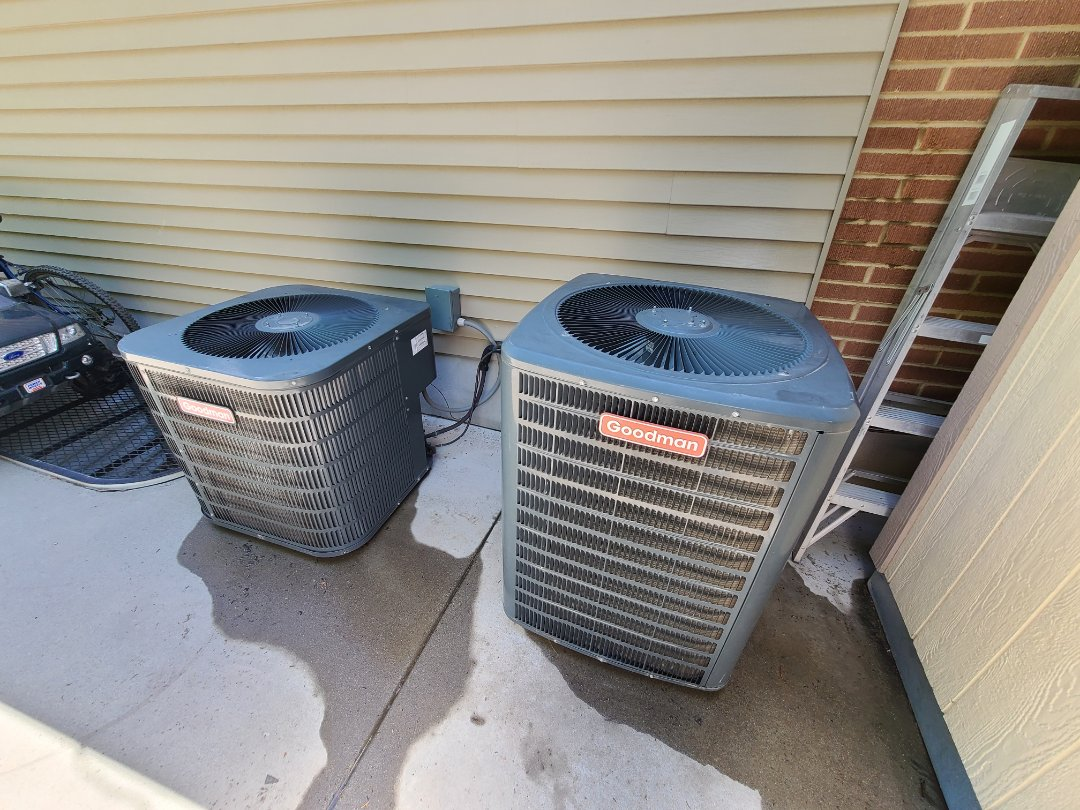 Cottonwood Heights, UT - Air conditioning tuneup on two Goodman air conditioners