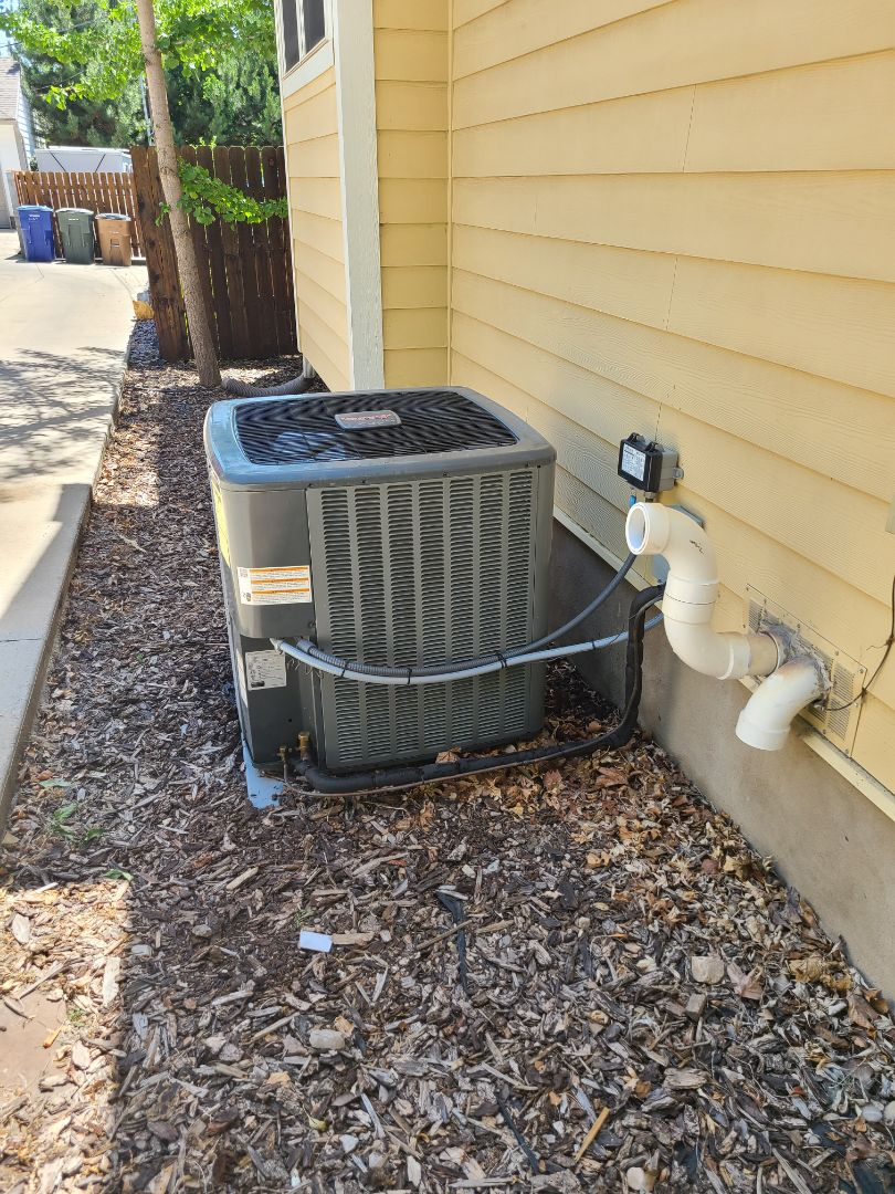 Salt Lake City, UT - Air conditioning tuneup on Amana air conditioner